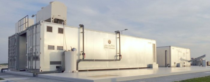 MBR Container Sewage Plant