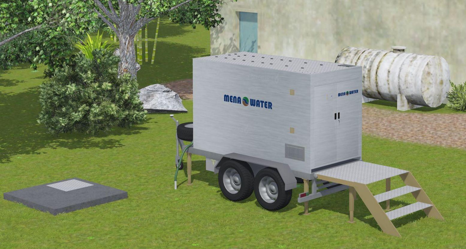 Mobile Trailer Plant