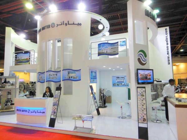 Exhibition Stand Water Features : Mena water news