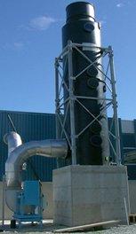 Влажные газоабсорбционная установка