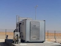 MBR Sewage Treatment Plant in Algerian Desert Camp