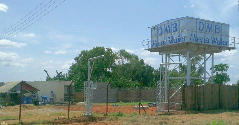 SafeDrink at Juba