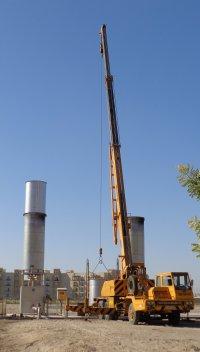 biogas-fackel