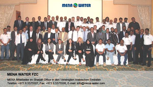 MENA Mitarbeiter in Sharjah