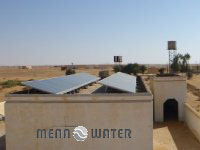Solare Wasserpumpe im Sudan