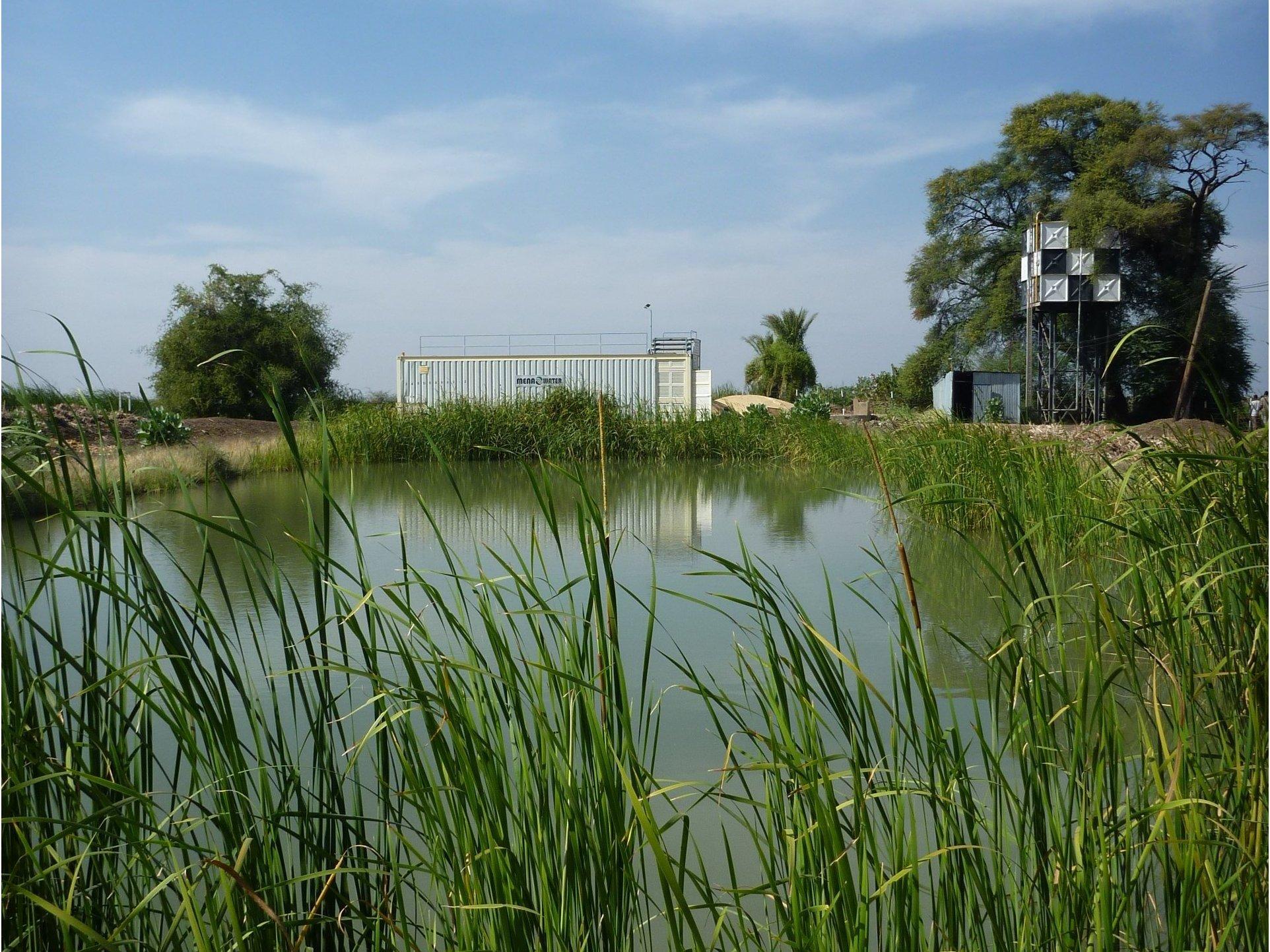 Container Trinkwasseranlage