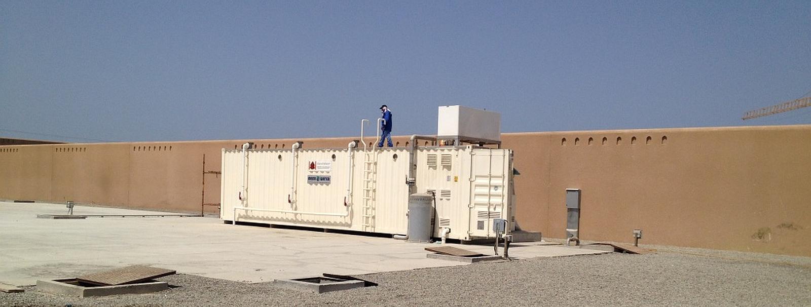 MBR-Container Kläranlage