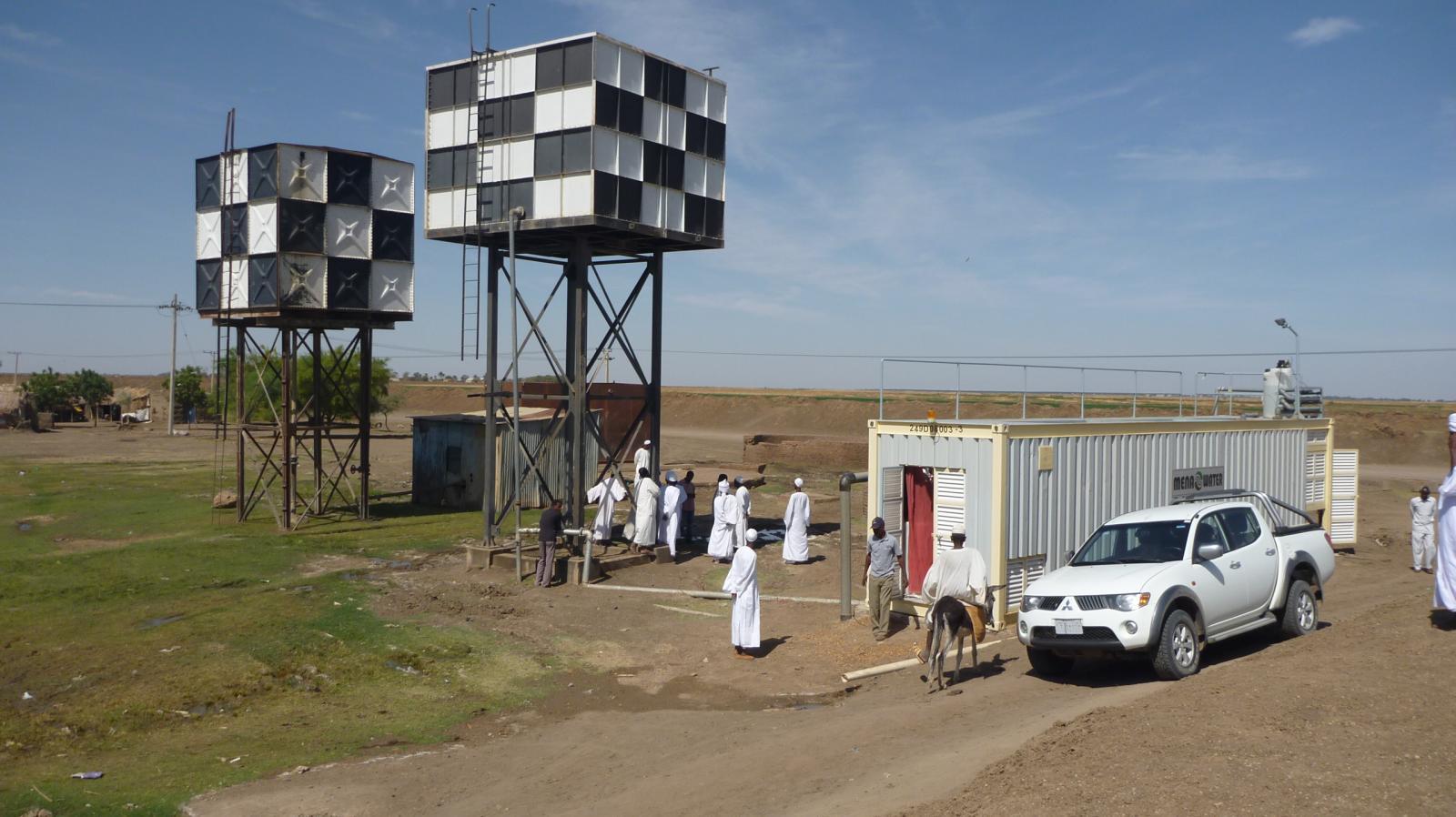 Trinkwasseranlage im Sudan