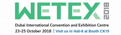 WETEX 2018 in Dubai