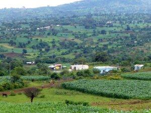 Trinkwasserversorgung der Stadt Baco in Äthiopien