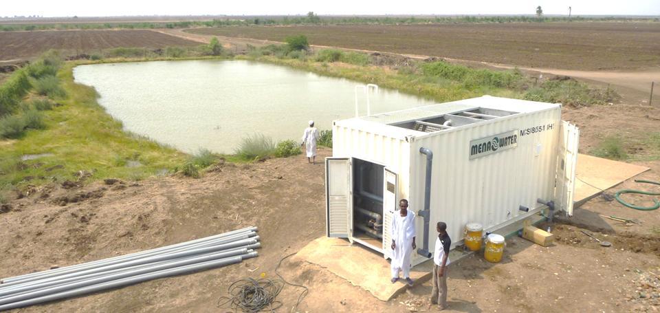 Aufbereitung von Oberflächenwasser