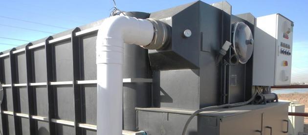 Biofilter zur Abluftreinigung