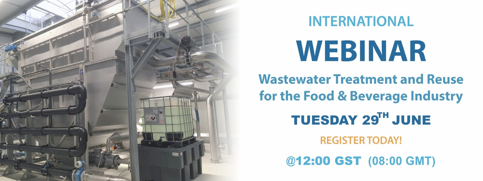 Wastewater Treatment and Reuse for the Food & Beverage Industry